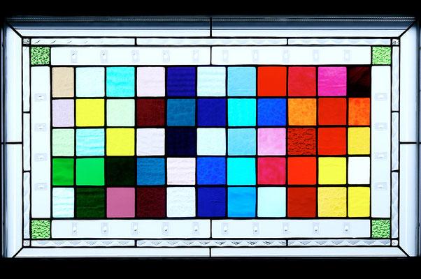Kunstverglasung Fensterglas