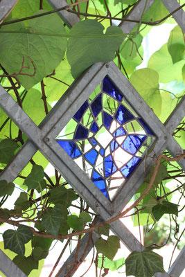 Kunstverglasung Gartengestaltung