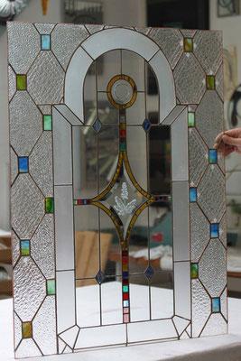 Kunstverglasung Fenster Franz Heili