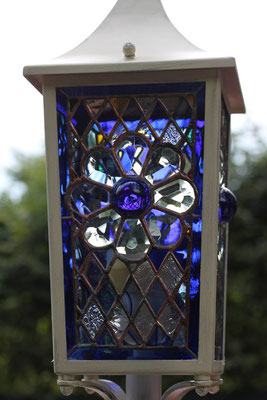 Kunstverglasung Tiffany Lampe Laterne Franz Heili