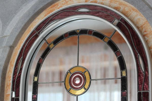 Kunstverglasung Franz Heili Farbglas Spiegel