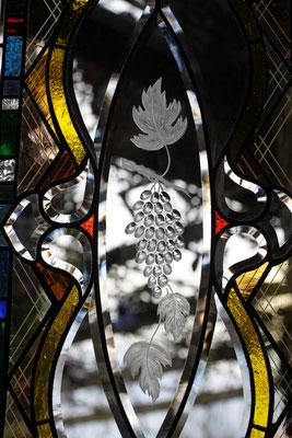 Kunstverglasung Fenster Gravur Franz Heili Andrea Malowerschnig