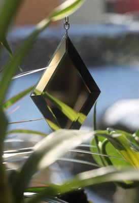 Baumspiegel, Spiegelmobile, Ideen aus Glas