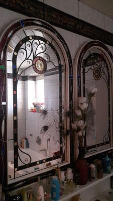 Spiegel Kunstverglasung Franz Heili