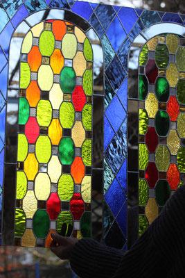 Kunstverglasung Tiffany Kirchenfenster Franz Heili