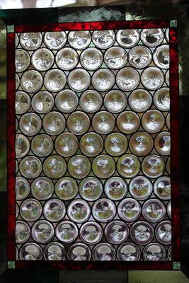 Kunstverglasung Butzenglas Fenster Franz Heili