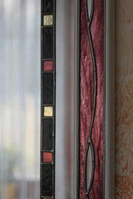 Detail Kunstverglasung