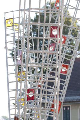 Kunstwerk Glaskugel