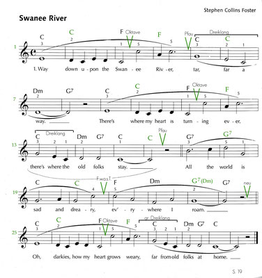 Swanee River Noten S. 14