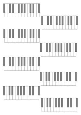 Tastatur für Akkorde
