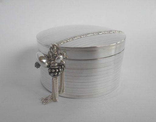 """""""Pleasure Treasure Box"""" Sterling Silver W60 x H35 - SOLD"""