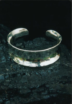 Concave Sterling Cuff