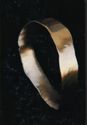 Forged & Forged!! Sterling Bangle