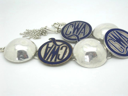 Sterling Silver & CWA Badges