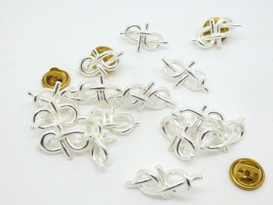 Sterling Silver Infinity Pins