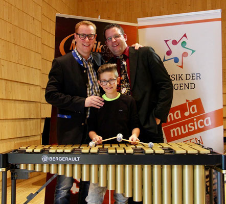 Hauptfachlehrer Michael Blasge & David Edlinger AG2 - 1.Preis mit Teilnahme am Bundeswettbewerb