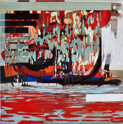 Lietzensee - oil on canvass - 140/140cm
