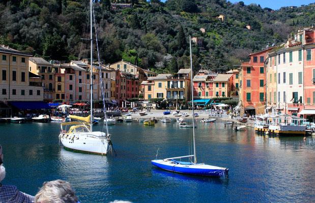 In der Bucht von Portofino.
