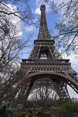 Der Eiffelturm im März 2014