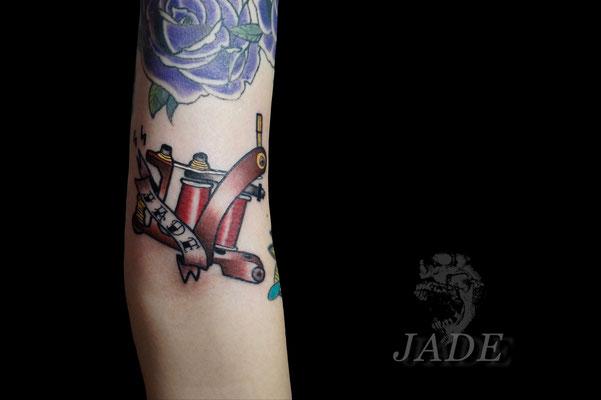 タトゥーマシン,タトゥー,刺青,tattoo,埼玉,さいたま市,大宮,浦和,jadetattoo,ジェイドタトゥー,takuyanakayama