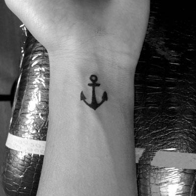 碇,anchor,onepoint,ワンポイント,tattoo,タトゥー,埼玉,富士見市,ふじみ野,TAKUYA