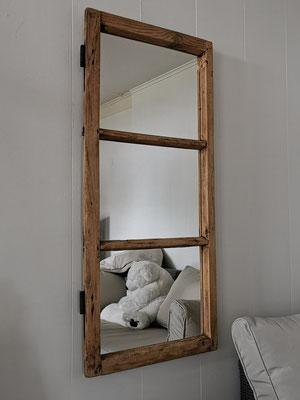 Spiegel 3er Fensterflügel