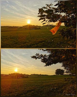 Sonnenuntergang Bramberg