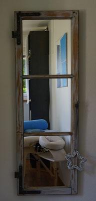 Fenster verspiegelt Shabby Chic Style