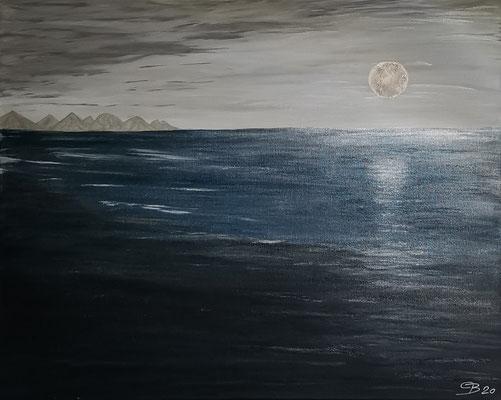 Acrylwerk Wasser Nr 14 Grösse 100 x 80 cm