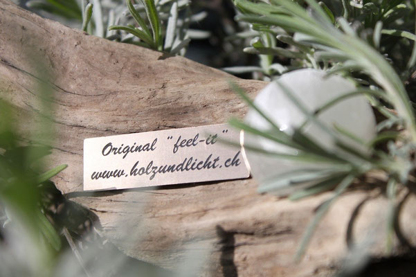 "lampes en bois flottant Original ""feel-it"" www.holzundlicht.ch"