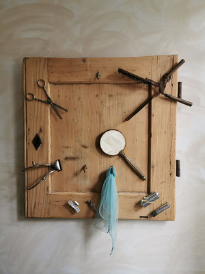Upcycling object de collection pour coiffure
