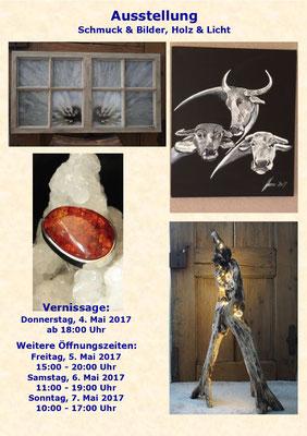 Flyer Ausstellung im Rathauskeller Aarberg