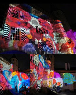 Evelyne Blum's Art zu fotografierenMurten Licht-Festival 2020