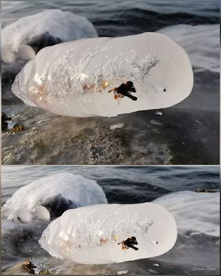 Evelyne Blums Art zu fotografieren atürliche Eiskunst 1 am Murtensee