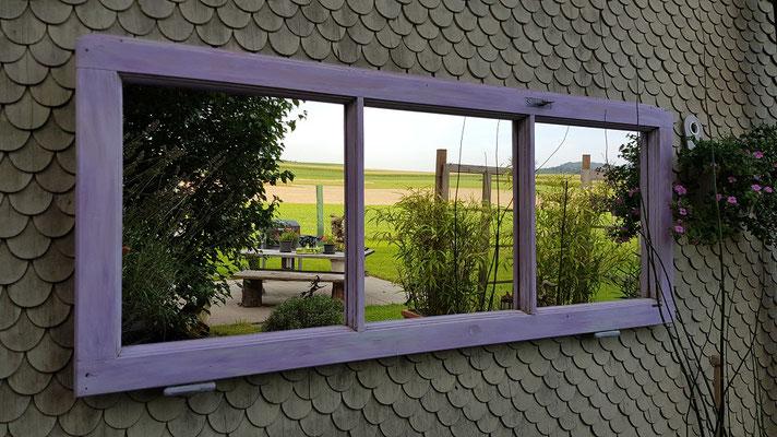Spiegel-Fensterflügel violett