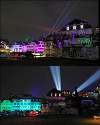 Evelyne Blum's Art zu fotografieren Murten Licht-Festival 2020