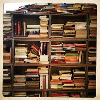 Bücherwand - Foto: Nadia Schweizer