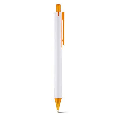 Bolígrafo promocional New Whity naranja