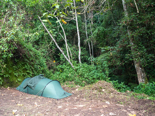 Base camp in the heart of the Udzungwas