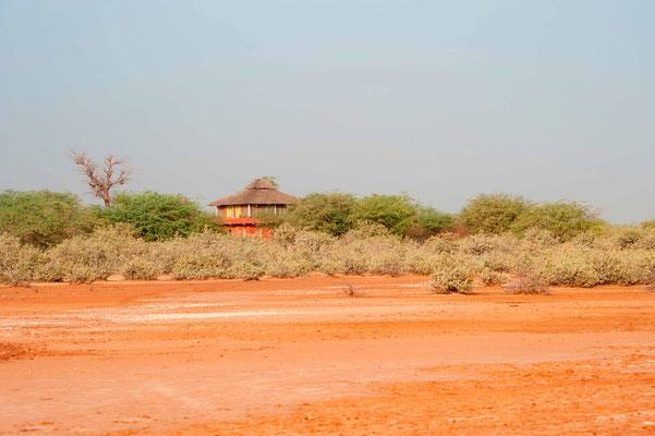 Dalaal Diam ecolodge, view from the Somone laguna