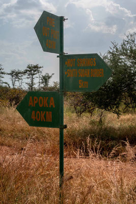5km from South Sudan!!