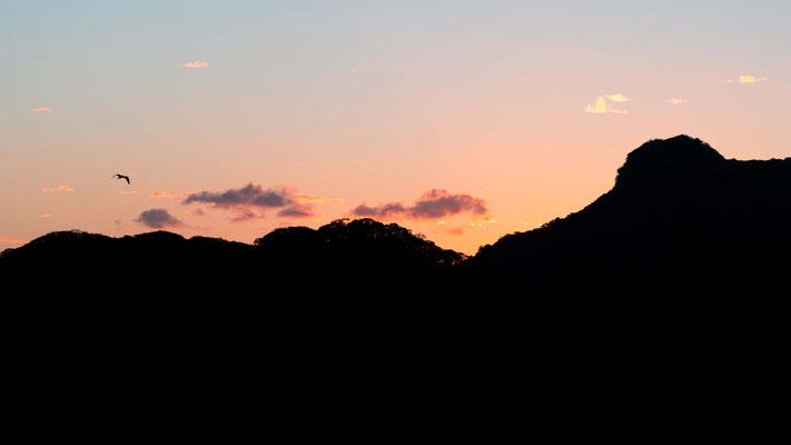 Coucher de soleil à Rancho Humo