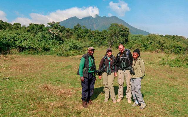 L'équipe de naturalistes au complet!