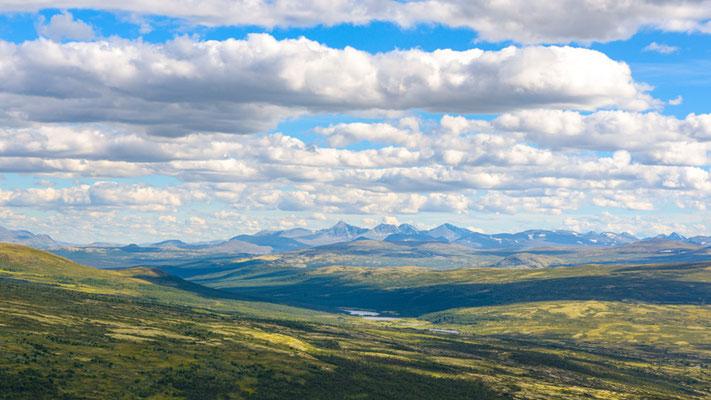 Paysages du Parc national de Dovrefjell-Sunndalsfjella