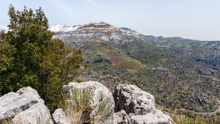 Vue du Jabal Moussa