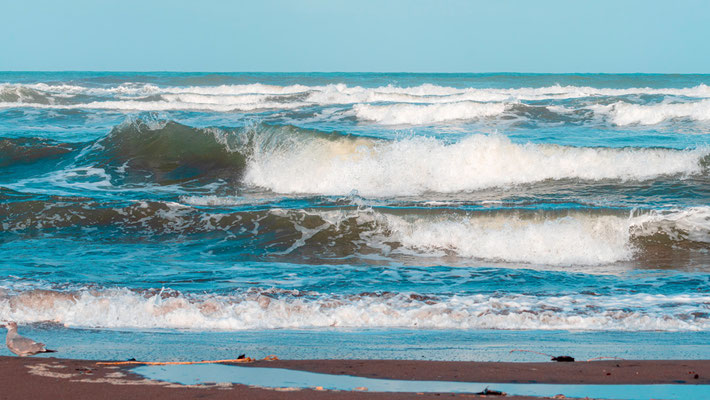 Atlantic Ocean in Tortuguero
