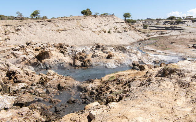 Paysage du Parc national d' Abijatta- Shalla