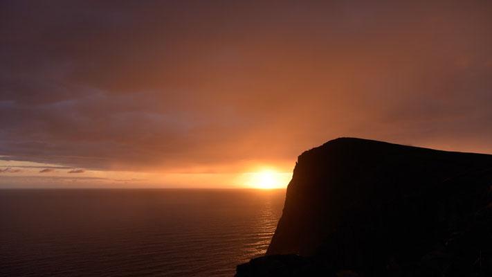 Sunset on Runde