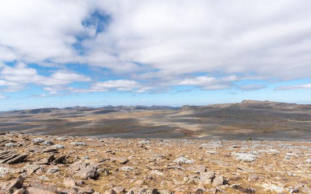 Landscape of the Sanetti plateau