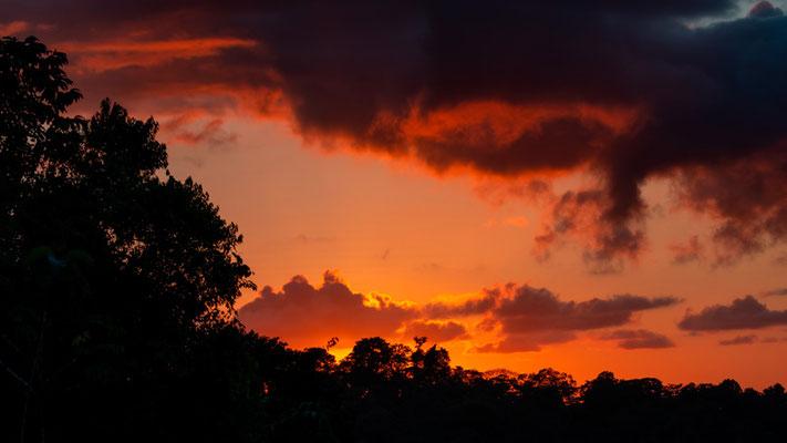 Sunset from La Tarde